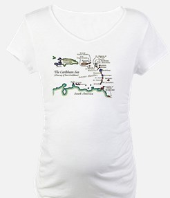 Caribbean Map Shirt