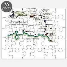 Caribbean Map Puzzle