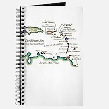 Caribbean Map Journal