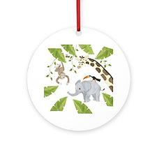 Jungle Ornament (Round)