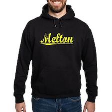 Melton, Yellow Hoodie