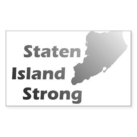 Staten Island Strong! Sticker (Rectangle)