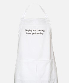 Sing and dancing BBQ Apron
