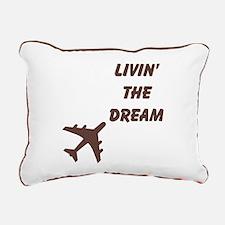 Airplane Rectangular Canvas Pillow