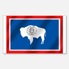 Flag of Wyoming Decal