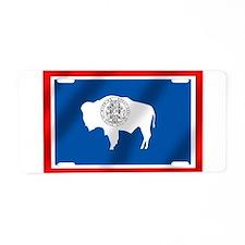Flag of Wyoming Aluminum License Plate