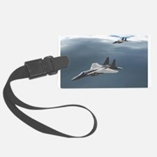 F-15 Eagles Soar into the Darkness Luggage Tag