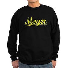 Moyer, Yellow Sweatshirt