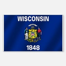 Flag of Wisconsin Decal