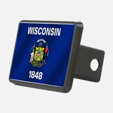 Flag of Wisconsin Hitch Cover