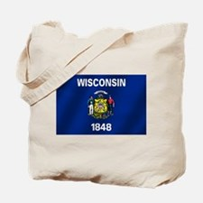 Flag of Wisconsin Tote Bag
