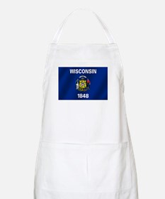 Flag of Wisconsin Apron