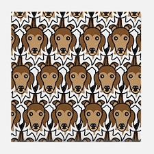 Shetland Sheepdogs Tile Coaster