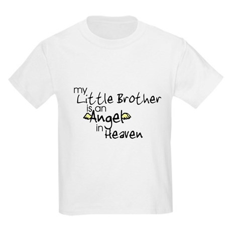 My little brother is an Angel Kids T-Shirt