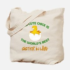 Cute Sister-In-Law Tote Bag