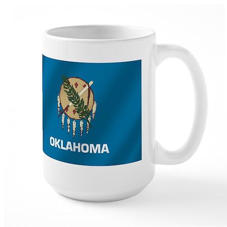 Flag of Oklahoma Large Mug