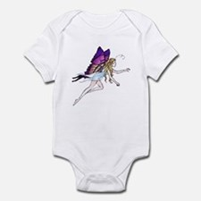 Purple Winged Butterfly Fairy Infant Creeper
