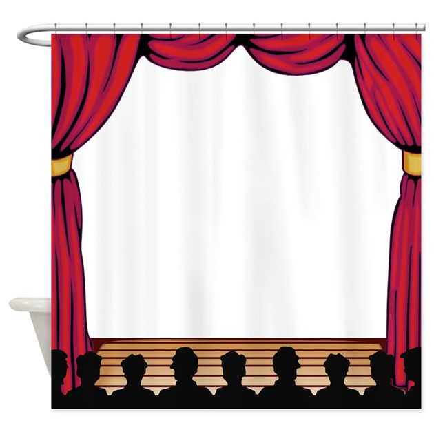 Showtime Shower Curtain By Jqdesigns