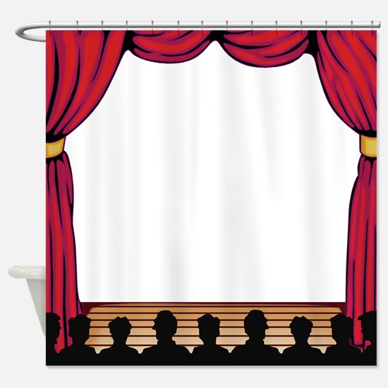 Showtime! Shower Curtain