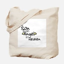 My son is an Angel Tote Bag