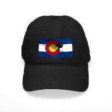 Colorado Skiing Flag Baseball Hat