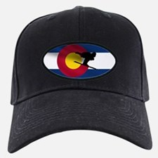 Colorado Skiing Flag Baseball Hat