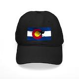Colorado flag Hats & Caps