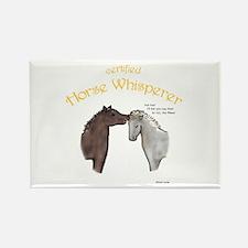 Horse Whisperer Rectangle Magnet (100 pack)