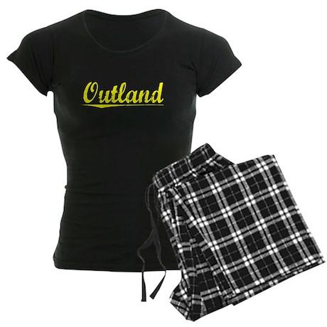 Outland, Yellow Women's Dark Pajamas