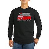 Firetruck Long Sleeve T Shirts
