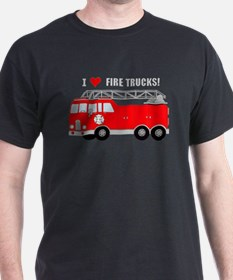 I Heart Fire Trucks! T-Shirt