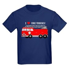 I Heart Fire Trucks! T