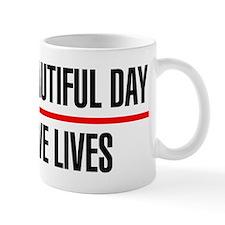 Its a Beautiful Day to Save Lives Small Small Mug