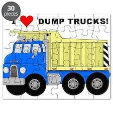 I Heart Dump Trucks Puzzle