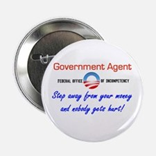 Government Agent Button
