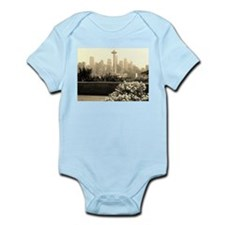 Seattle and the Space Needle Infant Bodysuit