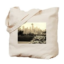 Seattle and the Space Needle Tote Bag