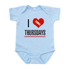 I Love Thursdays Infant Bodysuit
