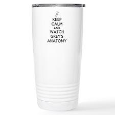 Keep Calm and Watch Greys Anatomy Travel Mug