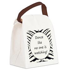 DANCE... Canvas Lunch Bag