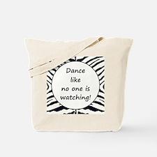 DANCE... Tote Bag