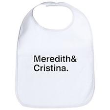 Meredith and Cristina Bib
