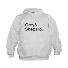 Grey and Shepard Hoodie