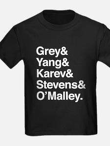 Grey, Yang, Karev, Stevens, Omalley T