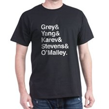 Grey, Yang, Karev, Stevens, Omalley T-Shirt