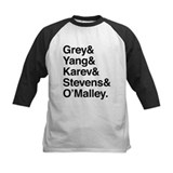 Grey yang karev Long Sleeve T Shirts