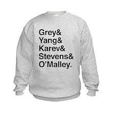 Grey, Yang, Karev, Stevens, Omalley Jumper Sweater