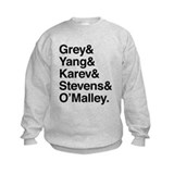 Grey yang karev stevens omalley Crew Neck