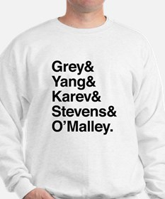 Grey, Yang, Karev, Stevens, Omalley Sweater