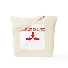 Funny Save pluto Tote Bag